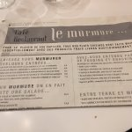 Photo of Le Murmure fracassant