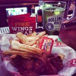 Our Famous Wings and Fries