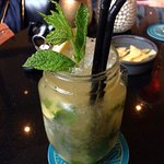 Ginger Mojito - £10 and well worth it!