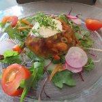 Pfifferlinge in Weingelee(?) - Vorspeise