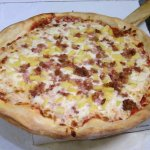 Pineapple and Bacon Pizza