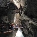 Aareschlucht in Meiringen Switzerland