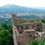 Altes Schloss Hohenbaden oberhalb von Baden-Baden