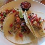 Fish (tuna)Taco Plate - lunch ($13)