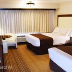 Double Queen rooms are the perfect blend of comfort and style.