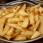 """A complimentary bowl of chips - """"they come with the meal"""""""