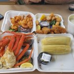 Our seafood assortment