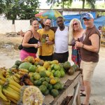 Countryside Tour - trying out the local Jamaican fruit