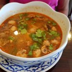 Tom Yum Soup with chicken