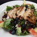 Blueberry Chicken Salad with our House-made Blueberry Dressing