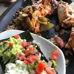 The chipotle pollo fajitas were awesome!