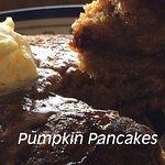 Seasonal pumpkin pancakes