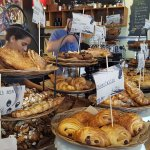 The incredible selection of pastries