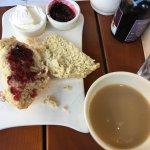 Earl Grey Tea and a Scone