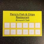 perrys restaurant reward club card