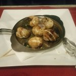 French classic snails in garlic herb butter;)