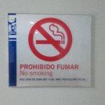 Esta prohibido fumar en todo el hotel, incluido habitaciones