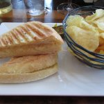 House Grilled Cheese with artisan cheese blend & truffle oil (V) $7