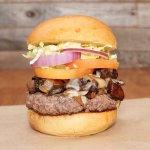 Portobello Gruyere Burger