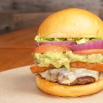 California Burger with Bacon