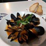 Mussels - not a main, but a starter.