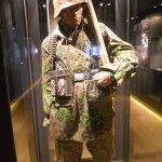 German trooper in camouflage