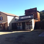 Old west town.