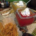 Mango and Strawberry margarita's, oh my!