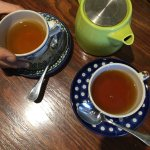 Organic Nigiri tea for the afternoon