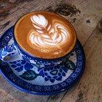 Latte art makes me smile