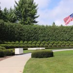President Hoover and his wife Lou's burial site.