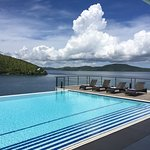 Stunning view from the infinity pool!