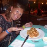 Spaghettis con mariscos... exquisitos