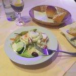 Salat vorweg war schön sehr lecker und frisch....