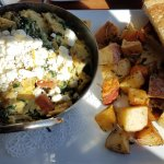Aphrodite scramble w/ potato medley