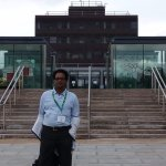 During the Conference Break at the University Premise
