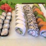 Sushi para compartir