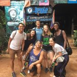 Jungle Flight Stamps Backpackers Crew