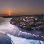 Sunrise at Blue Point Bay Villas & Spa. Shot with DJI Phantom 4.
