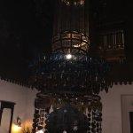 chandelier inside the Mena house