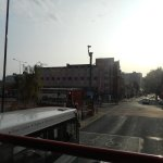 This was taken in a hurry from the bus but it shows the Gilson situated on the corner of Anlaby