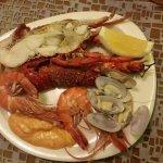 lobster, oyster dkk