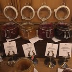 home made jams ! delicious ! you will get a sample gift at your departure!
