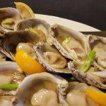 A dozen of NZ oysters