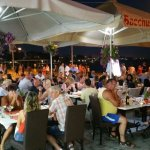 August Dinner time at Bacchus