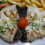 Delicious grilled fresh tuna