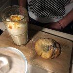 Smoothie caramel et cookies maison