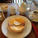 Pot of tea and a nice bun!