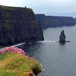 The Cliffs of Moher in Ireland on our 7 day tour