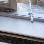 Dirt on window